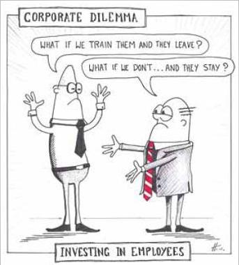 Corporate Dilemma Cartoon