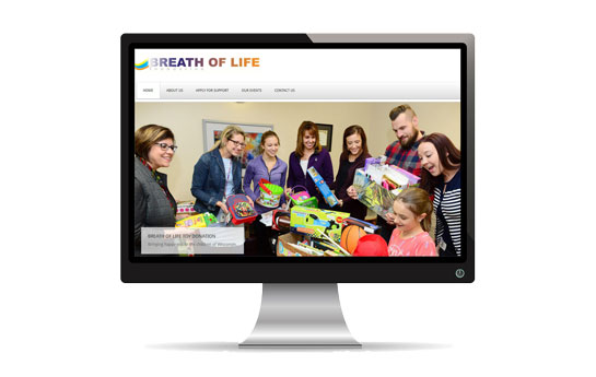 Breath of Life Foundation Website
