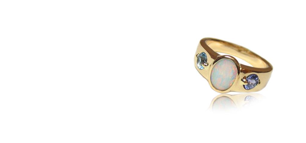Expert Jewelry Repair & Design - Custom Designed Opal Ring