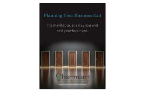 Herrmann Advantage Consulting Exit Planning eBook Cover
