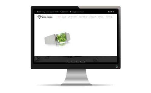 Expert Jewelry Repair & Design Website