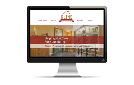Kline Family Caretaking Website