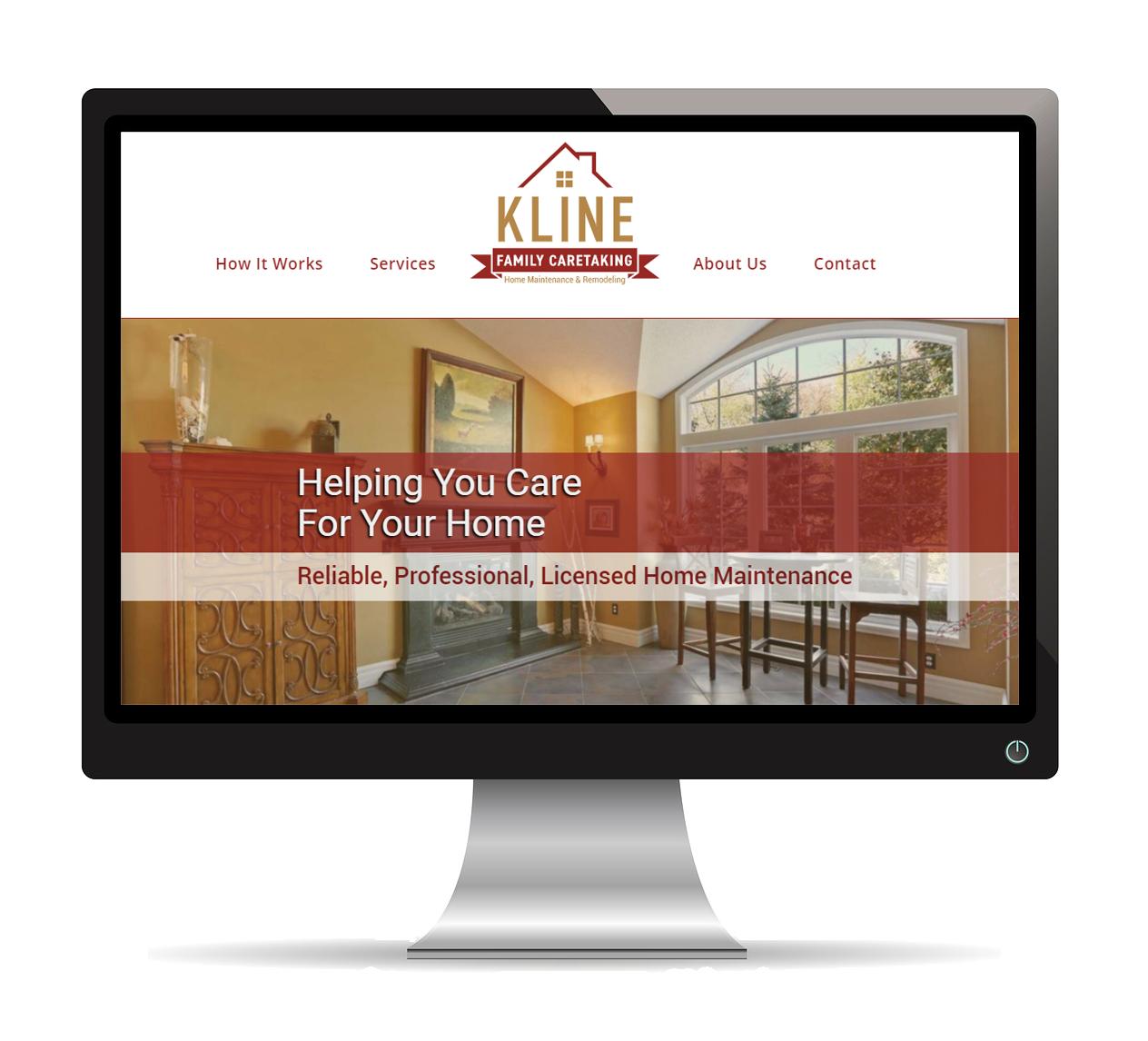 Kline Family Caretaking Website
