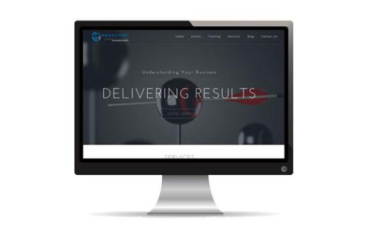 Praxilient Inc Website | JCD Promotions Portfolio