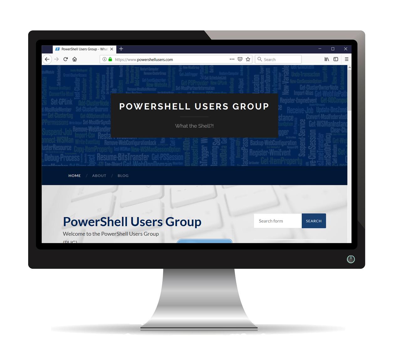 Appleton PowerShell Uesrs Group Website