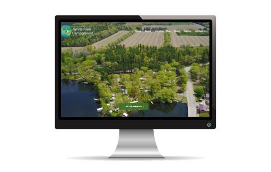 White River Campground Site | JCD Promotions Portfolio