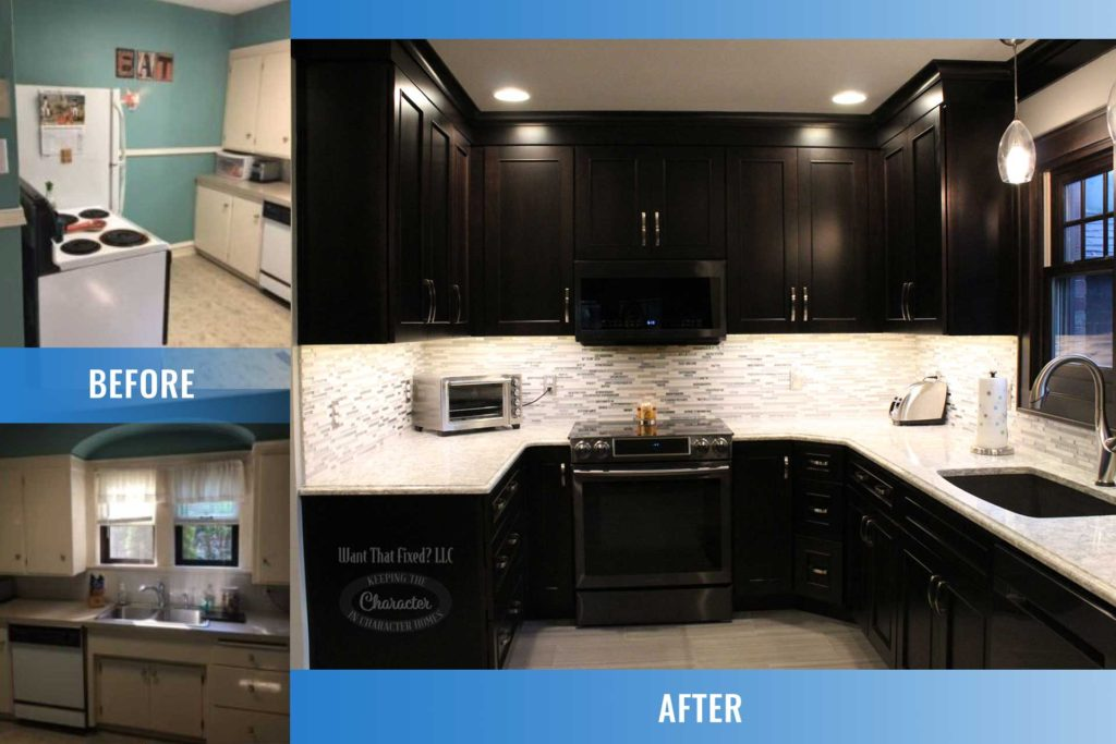 Want That Fixed? 1930s Kitchen Remodel - Before and After